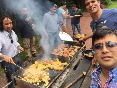 Annual BBQ event
